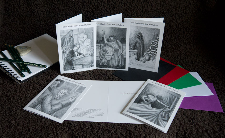 Charles Dickens Christmas Cards