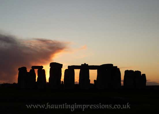 Stonehenge mid winter